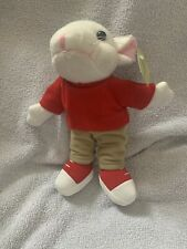 "Stuart Little Plush Soft Toy Tagged 8"""
