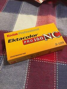 Kodak 5 Rolls 120 Ektacolor PRO 160 NC Color Negative Film Expired/refrigerated