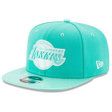 New Era Los Angeles Lakers Mint Green Solid Shine 9FIFTY Snapback Adjustable Hat