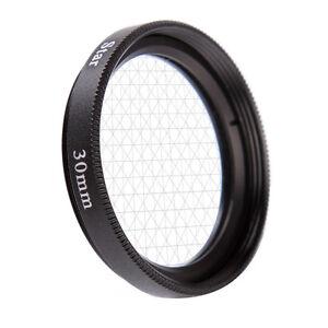 Universal 55mm 8PT 8 Cross Star Effect Lens Filter Eight Point Line DSLR Camera