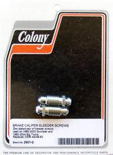 Harley 83-04 Brake Caliper Bleeder Screw Colony 2601-2
