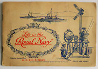 Life in the Royal Navy, 1939 Album, Full Set Cigarette Cards, W.D. & H.O. Wills,