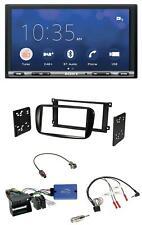 Sony USB Lenkrad DAB 2DIN Bluetooth Autoradio für Ford Focus C-Max CAN-Bus glänz