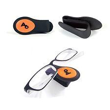 Wine Soft Car Sunglasses Eyeglasses Clip Sun Visor Holder for Car Vehicle