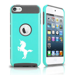 For Apple iPod Touch 5th 6th Shockproof Impact Hard Soft Case Cover Unicorn