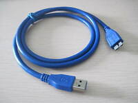 USB 3.0 A to Micro B male extension data charging Cable for micro B HDD case 1m