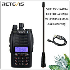 Walkie Talkies FM Radio Cross-Band Repeater 128CH Funkgerät 1600mAh Retevis RT23