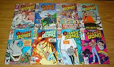 James Bond Jr. #1-12 VF/NM complete series - marvel comics - all ages set lot