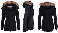 JET LAG Damen WinterJacke Mantel Parka SW61B  Outdoor Winterjacke Wintermantel