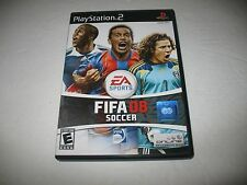 FIFA Soccer 08 (Sony PlayStation 2, 2007) complete