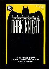 BATMAN LEGENDS OF THE DARK KNIGHT 1 (9.8) ORANGE DC (b013)