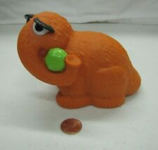 "Sesame Street SNUFFLEUPAGUS SNUFFY PVC Figure TYCO Cake Topper Toy 5"" Long Rare"