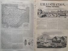 """L'ILLUSTRATION1852 N 500 LANCEMENT DU VAISSEAU- MIXTE """" L'AUSTERLITZ"""""""