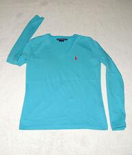 Ralph Lauren Damen-T-Shirts mit V-Ausschnitt aus Baumwolle
