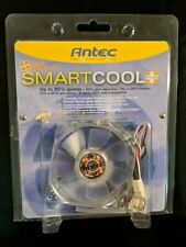 Antec 80 MM SmartCool Plus Case Fan with 3-pin Connector and 4-Pin Adapter