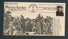 US Stamps FDC MARTIN LUTHER #2065 / Signed Garik Cachet / 125 Made