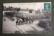 CPA. GROS BOIS. 94 - Intérieur de l'Auberge. 1908. Cyclistes. Bicyclettes.