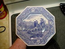 """Spode Blue Room """"Lucano"""" Octagon Plate"""