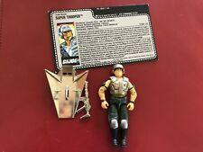 Vintage GI Joe 1988 Chrome Super Trooper (V1) 100% Complete w/ File Card