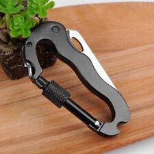 Mini Stainless Multi Tool EDC Pocket Bottle Opener Screwdriver Blade Keychain
