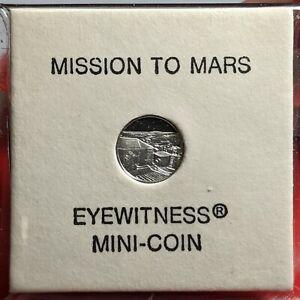 1976 Platinum Mission to Mars Mini Coins UNC 172421p