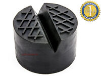 NEW RUBBER JACKING PAD ADAPTER WITH V-SLOT HYDRAULIC RAMP JACK SUV JACKING TOOL