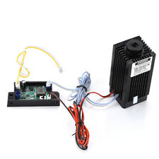 DIY TTL Analog 5500mW CNC 450nm Blue Laser Module Engraver Tool + Free Goggles