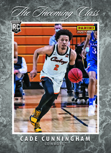 2021-22 Panini Instant The Incoming Class NBA Cade Cunningham PRESALE
