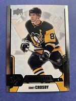 2019-20 Upper Deck Credentials Base #50 Sidney Crosby Pittsburgh Penguins