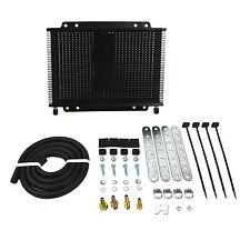 """B&M Super Cooler Fluid / Oil Cooler 8.5"""" x 11.25"""" (3/8"""" Inlet Outlet) 13000 BTU"""