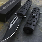 "8.5"" SPRING OPEN ASSISTED TACTICAL FOLDING RESCUE POCKET KNIFE Blade Assist EDC"