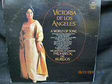 Victoria De Los Angeles - A World of Song - Sinfonia of London De Burgos - Angel