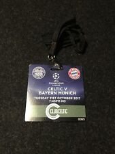 Sammler Used Ticket Celtic Glasgow - FC Bayern München 31.10.17 FCB