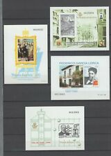 SPAIN Lot of 4 Official Artist Proofs 1995-1998 MNH Luxe