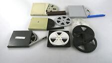 10x Super8 Films Et Bobine Vide Avec Boîtes de Film