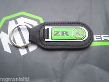 MGZR MG ZR Genuine Leather Keyfob Keyring  MG Xpower Logo mgmanialtd.com