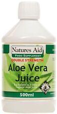 Aloe Vera Juice (Double Strength) 500ml  - Natures Aid