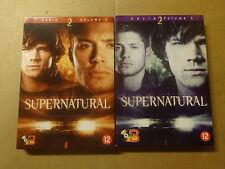 6-DISC DVD BOX / SUPERNATURAL - SERIE 2 - VOLUME 1 + VOLUME 2