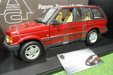 LAND ROVER RANGE 4.6 HSE RHD 4x4 rouge red 1/18 AUTOart 70013 miniature