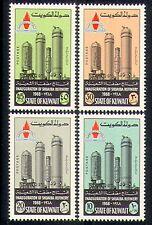 Kuwait 1968 Oil Refinery/Petrol/Transport 4v set n30551