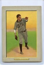 1910 TURKEY RED #39 RUBE WADDELL BASEBALL CARD, ST. LOUIS BROWNS, VERY RARE