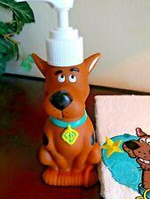 Rare Scooby Doo Hand Towel & Soap Dispenser Bathroom set New vintage 2001 no box