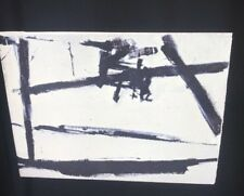 """Franz Kline """"Painting #2"""" Abstract Expressionism Painting 35mm Art Slide"""