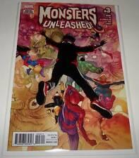 MONSTERS UNLEASHED # 3 Marvel Comic   April 2017 NM