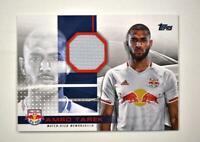 2020 MLS Jumbo Relic #JR-AT Amro Tarek /319 - New York Red Bulls