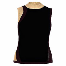 Petite Geometric Fitted Sleeve Tops & Shirts for Women