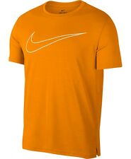 New Nike Men's XL Orange Superset Breathe S/S Crewneck T-Shirt