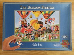 Gibsons - The Balloon Festival - 500 XL Piece Jigsaw Puzzle Complete