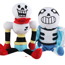 2pcs/lot 30-40cm Undertale Sans Papyrus Plush Toy Stuffed Soft Doll Gift Plushie
