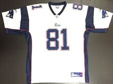 Reebok Authentic Randy Moss 81 New England Patriots Football Jersey Size 54